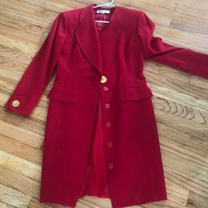 Bill Blass coat dress